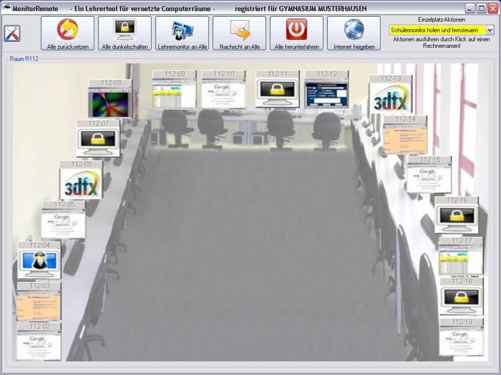 Klassenraummanagement Software - Pädagogische Software für Ihre Schule
